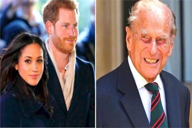 prince philip s funeral will include prince harry not megan merkel