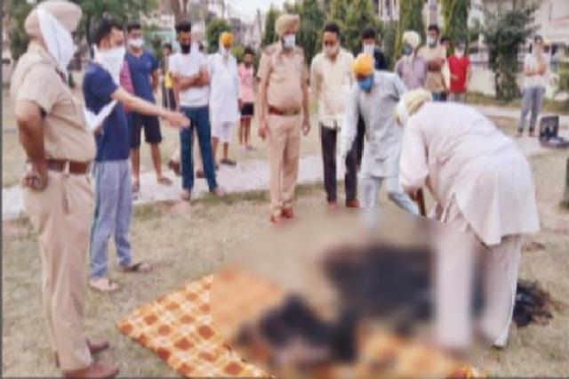 wounded woman s half dead body found by sons and daughter in law