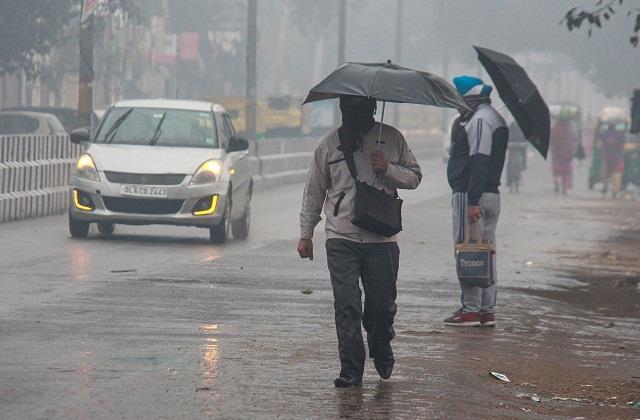 may be light rain in delhi