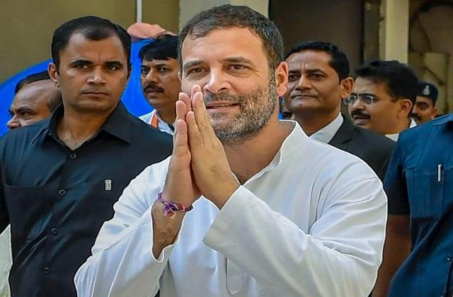 due to corona rahul gandhi canceled his election rallies in west bengal