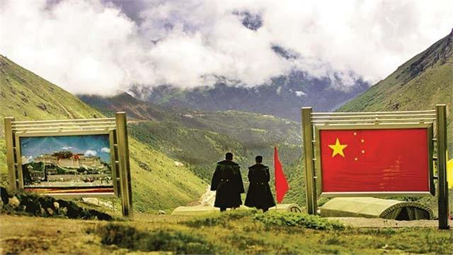 china bhutan hold discussions to resolve border dispute