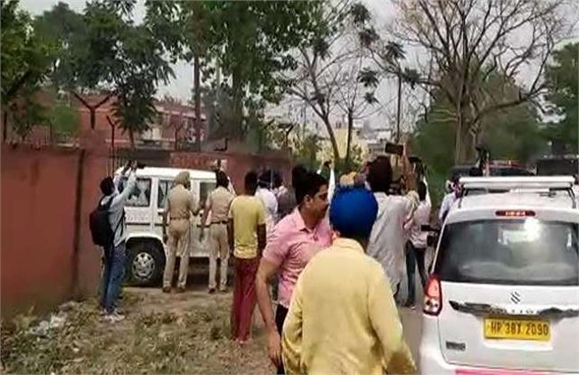 mukhtar ansari s convoy left for up from ropar jail in punjab