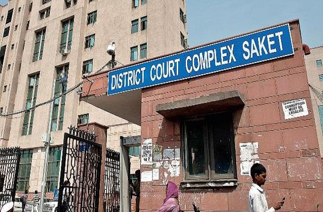 delhi saket court judge dies from corona