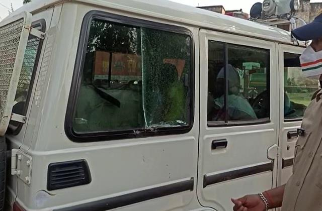 corona dharmanagri attack on administrative team to observe