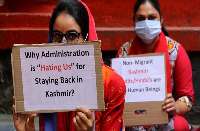 now kashmiri pandits will not be tortured in the valley