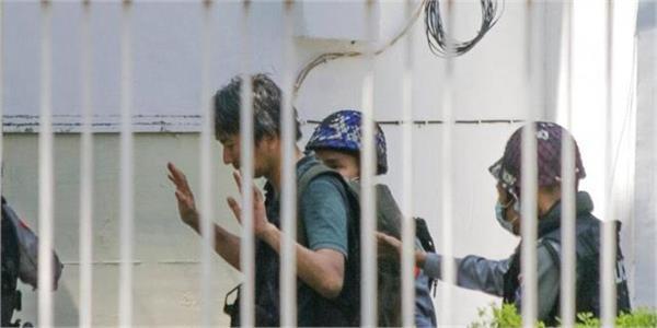 japan journalist arrested in myanmar govt asks for release