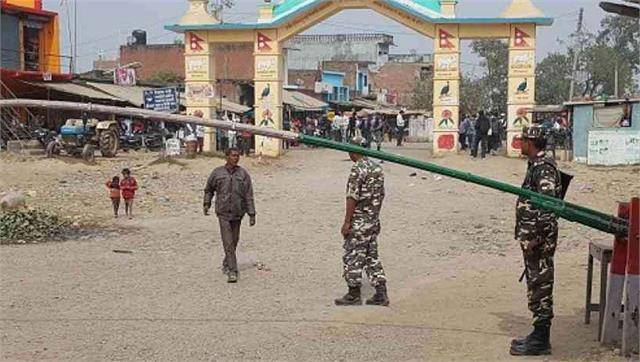 nepal border will be sealed 48 hours before voting of up
