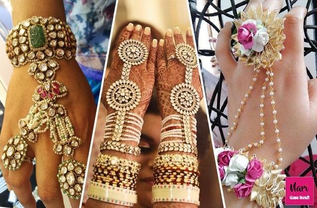 Bridal Fashion: शादी के हर फंक्शन में ट्राई करें ये Hand Jewellery (See Pics)