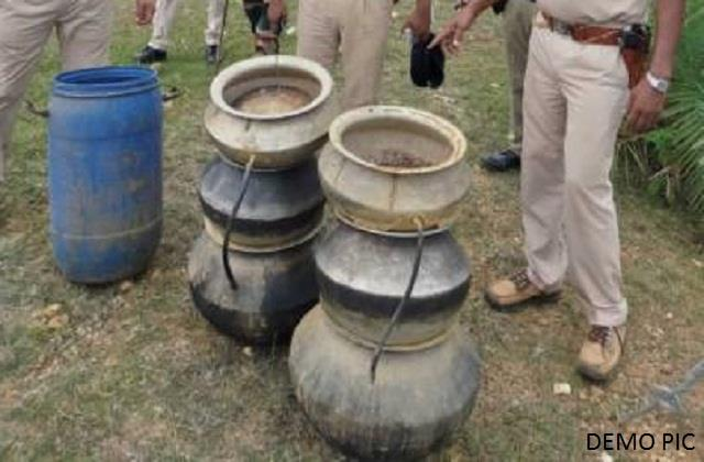 four liquor smugglers arrested in jamui special raid operation