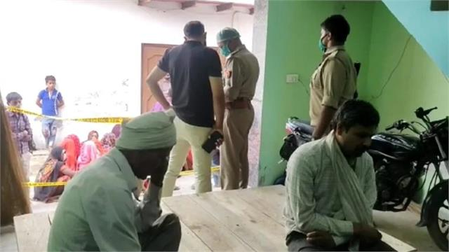 former inspector murdered in agra son suspected