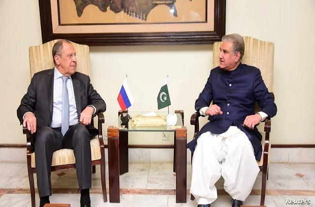 pakistan fm qureshi holds talks with russian counterpart lavrov