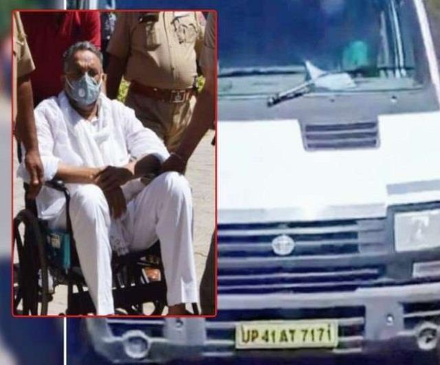 mukhtar ansari ambulance