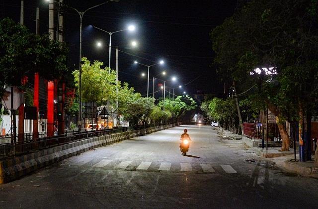 corona virus night curfew somewhere and weekend lockdown
