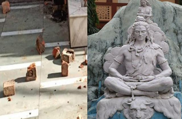 temple idols broke to take revenge from god