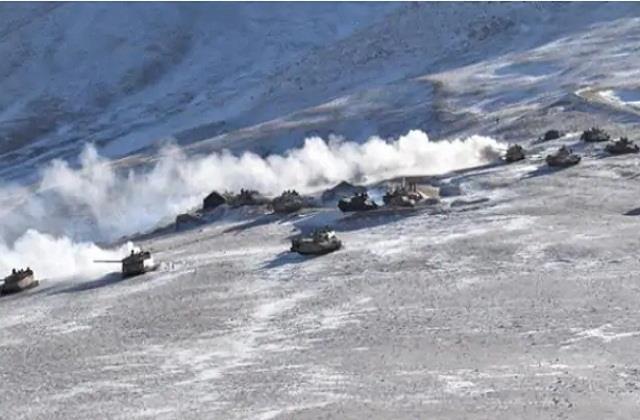 national news punjab kesari ladakh russia china india military