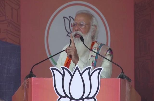 narendra modi election campaign mamata banerjee