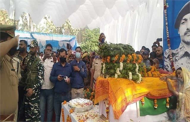 ayodhya cremated with state honors to pay homage to martyr prince