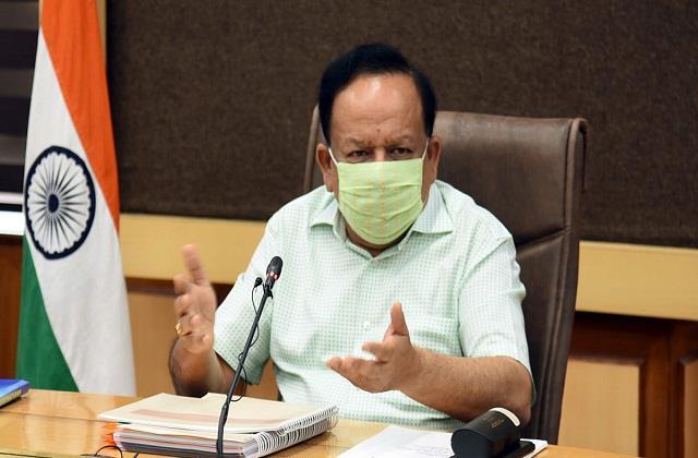 congress counterattack on harshvardhan