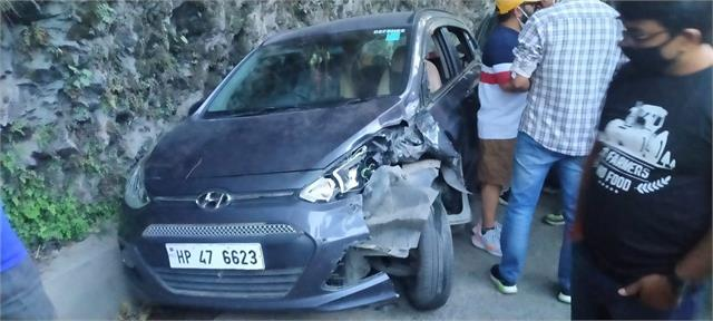 uncontrolled truck rammed into road parked cars woman injured