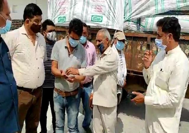 wheat procurement started in kangar