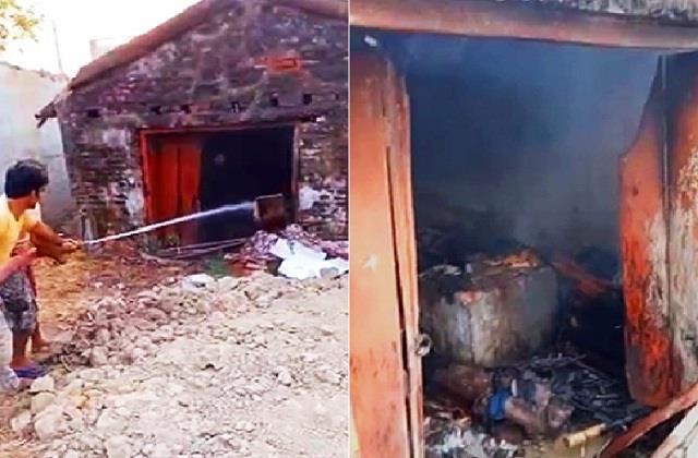 karni army created panic in gavapur village