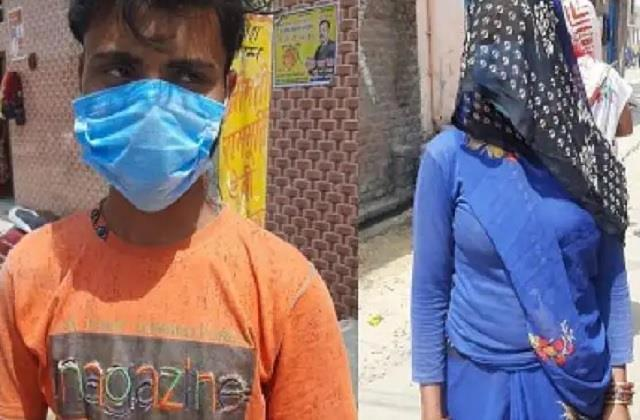 up panchayat election employees got wife s vote from husband after seeing