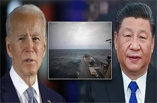 pla carrier enters s china sea after us flattop exercise amid taiwan tensions