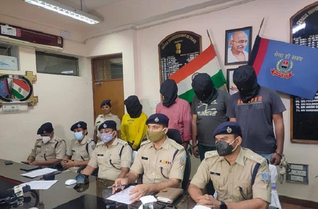 4 members of notorious criminal sujit sinha gang arrested