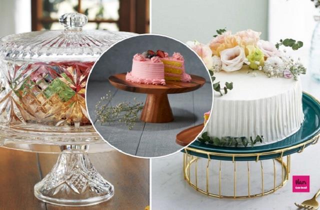 Kitchen Decor: केक सर्विंग स्टैंड के लिए यहां से लें यूनिक Ideas