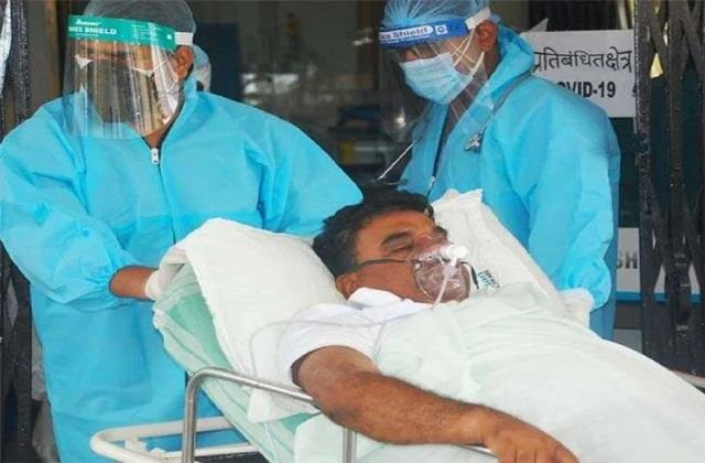 corona infected legislator indrajit mahato s health deteriorated