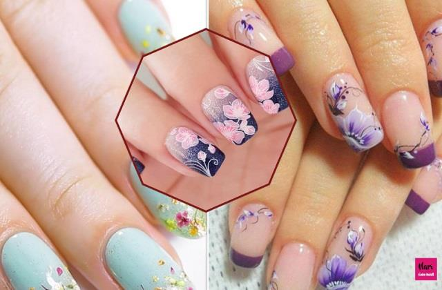 फ्लोरल Nail Art से बढ़ाएं हाथों की खूबसूरती, देखिए यूनिक डिजाइन्स