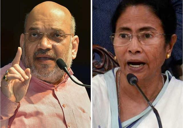 on being called  outsider  shah retaliated on mamta