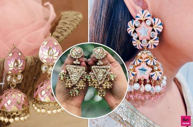 फिर चला Pastel Earrings का फैशन, यहां देखें लेटेस्ट डिजाइन्स