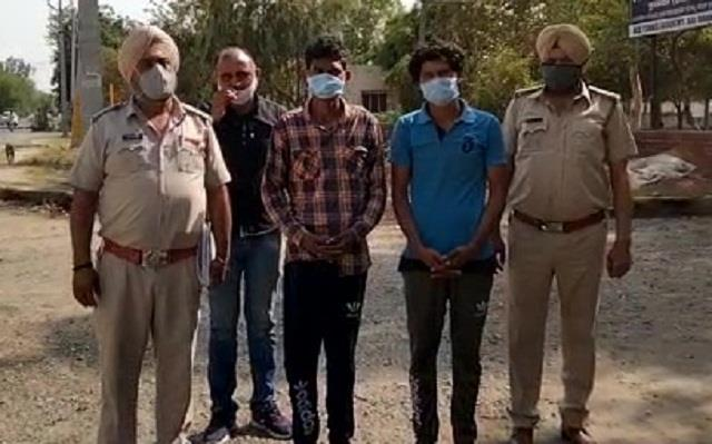 rape with minor boy two arrested