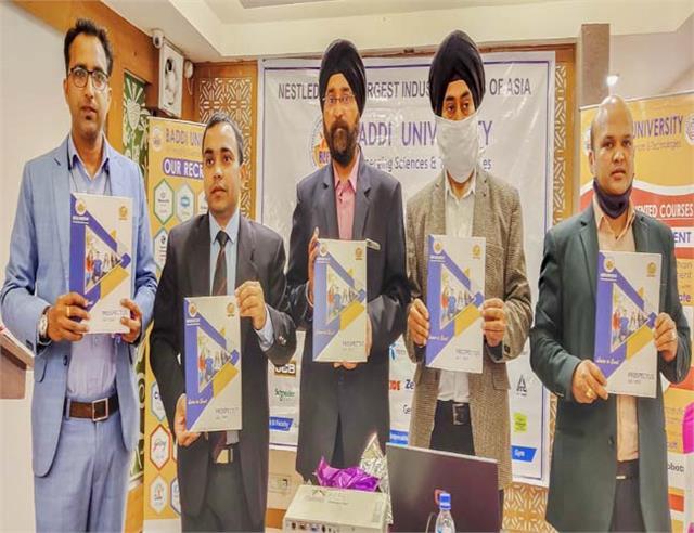 dharamshala baddi university admission prospects launch
