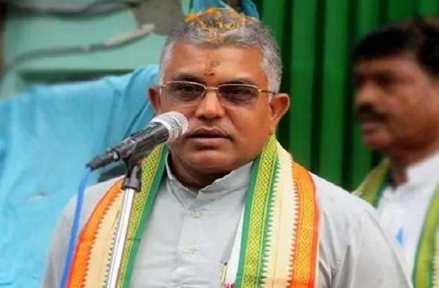 election commission tightens bjp chief dilip ghosh