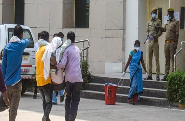 outcry over corona in delhi