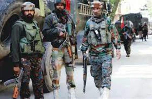 shopian encounter success in killing five terrorists while saving the mosque