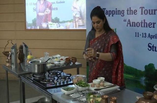 chef pankaj is preparing delicious cuisine of kashmir