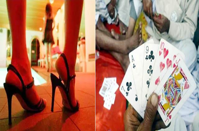 body trade and gambling business busted in kasauli