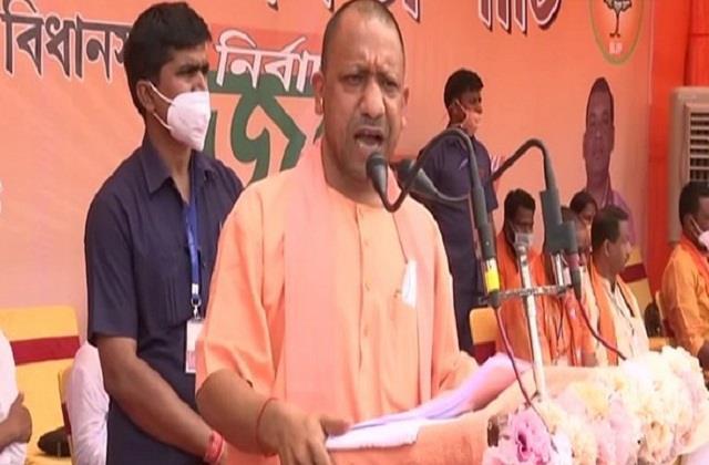 yogi adityanath said  bengal will be free from trinamool rule on may 2