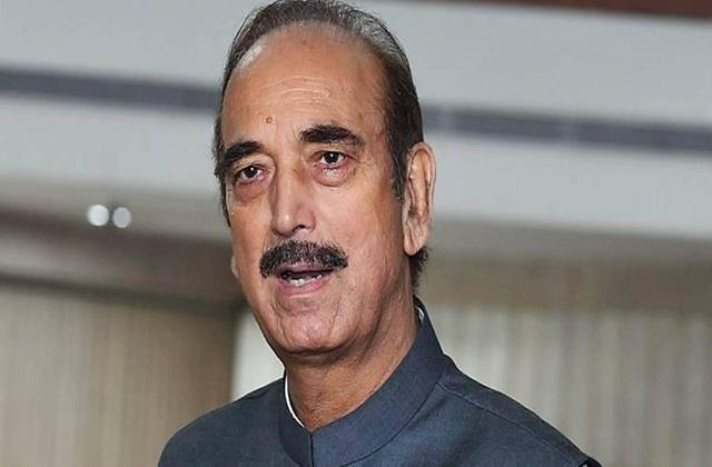 ghulam nabi azad wrote a letter to the pm