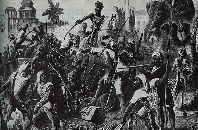 resentment of soldiers and participation in the first battle