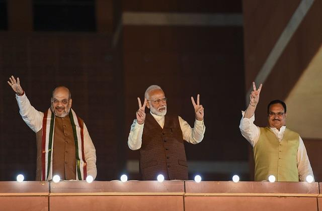 bjp changing itself in transition