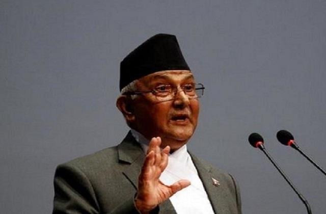 anti nepalese prime minister of india  oli lost majority on future claim