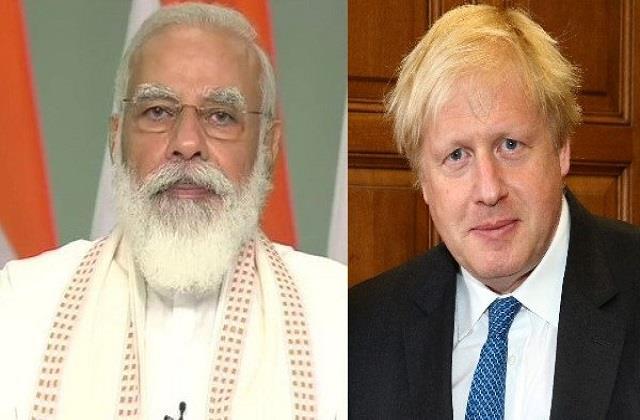 pm modi to hold virtual summit with uk prime minister boris johnson on 4 may