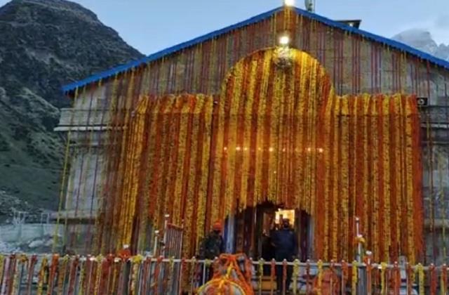 kedarnath temple open