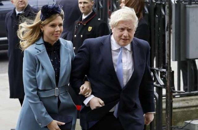 british prime minister boris johnsonsecret ceremony
