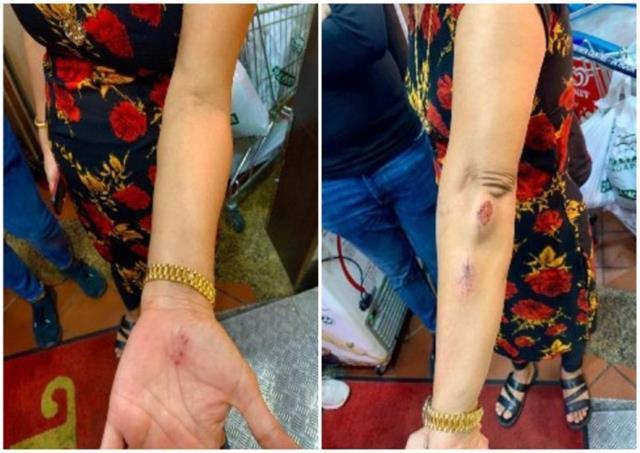 singapore man kicks indian origin woman for not wearing mask