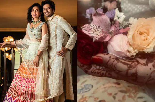 OMG:अली फैजल ने ऋचा चड्ढा संग किया निकाह ! शेयर की मेहंदी रचे हाथ की तस्वीर ali  fazal shares mehndi pictures fans said is he tie a knot with richa chaddha  bollywood